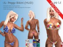 -JL- Peggy Bikini (HUD) for Maitreya, Slink Physique & Hourglass *PROMO*
