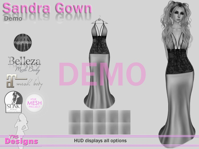 Sandra Gown Demo Hud