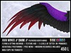 [M.O.R] AVIA : BENTO WINGS DARK