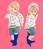 Lexxie TOTSIPOP Infant fishies hoodie