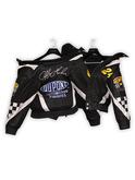 .:villena:. - Motorsport Bomber Jacket - Bk/Bk