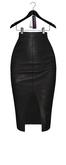 Jeune by Rowne.Maud Leather Skirt - Onyx