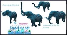 F.G.M.N/Blue Fantasy Carnival Elephant with sound