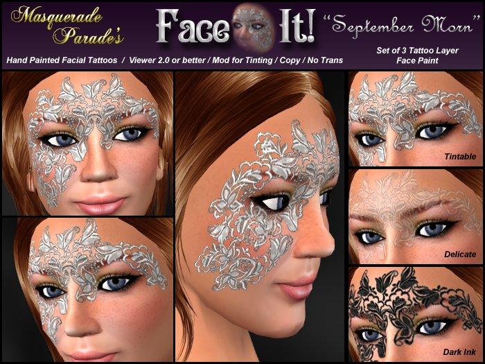 Face It! - September Morn Tatt Pack