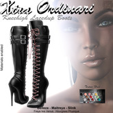 *XO* Knee High Lace Up Boots