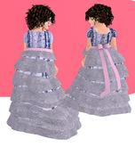 Lexxie Toddledoo Kid Long Dress Mauve