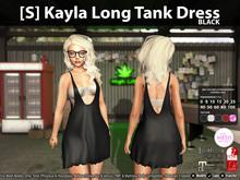 [S] Kayla Long Tank Dress Demo