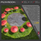Mushroom Game Theme - THEME ONLY - REQUIRES PURCHASE OF COMPATIBLE GAME LICENSE