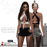 SEVEN - SIA mesh OUTFIT