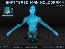 **ToKKen Industries** Shattered Man Hologramm - Mesh