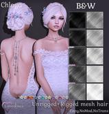 {Limerence} Chloya hair-B&W