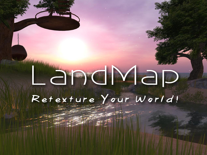 LandMap - Change your ground texture without land powers!