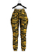 .:villena:. - High Rise Joggers - Lemon Camo