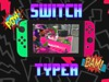 switch typer - green&pink