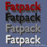 Mesh Letters - Fatpack (1 prim high LOD)