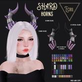 Ecru. Shard Horns