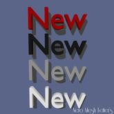 Mesh Letters - New (1 prim)