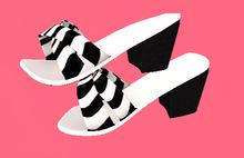 Lexxie Toddledoo Kid Heels Zebra