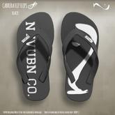 -NU- Cabrera Flip Flops Black