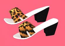 Lexxie ToddleeDoo Baby Heels Leopard