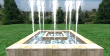 .:GBH:. mesh water fountain