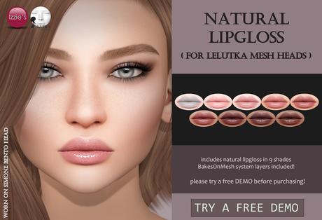 Izzie's - DEMO Natural Lipgloss (LeLutka)