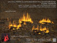 LDG-FULL PERM 722 Animated Mesh Fire_Sound_Builderkit