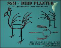 SSM - Bird Planter
