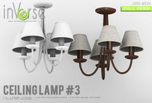 inVerse® MESH - Ceiling Lamp #3 full permission