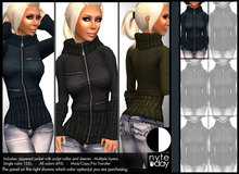 Nyte'N'Day - Toast Sweater - Blue