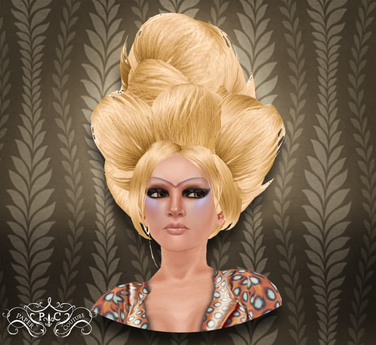 p.c; Big Bun Puff - Blonde