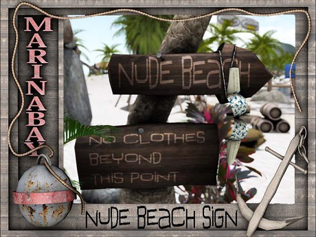 nude sign