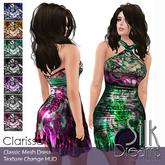 Silk Dreams Clarissa (Mesh) Dress with Texture Change HUD