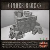 Cinder Block Brick Stack