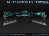 **ToKKen Industries** Sci-Fi Computer Terminal - Mesh