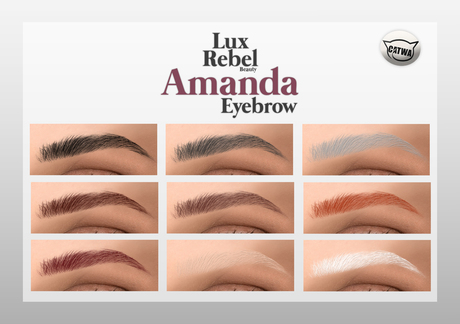 LUXREBEL - Amanda Collection Eyebrow (Catwa)