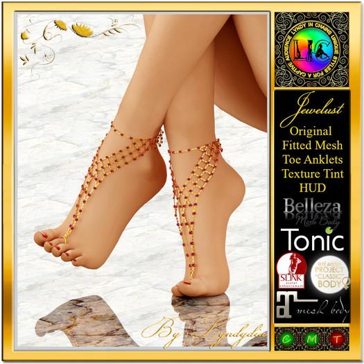 Jewelust Toe Anklets