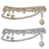 Mimikri - Darcy Chain Belt silver & gold_Maitreya ,SLink