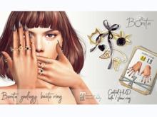*Bonita*  zoology bento rings (MAITREYA Hands)