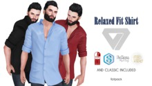 ILLI - [MeshProject,Physique,Signature Gianni,Classic] Relaxed Fit Shirt (HUD Driven) - PROMO