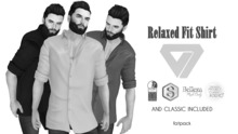 ILLI - [MeshProject,Physique,Signature Gianni,Classic] Relaxed Fit Shirt DEMO