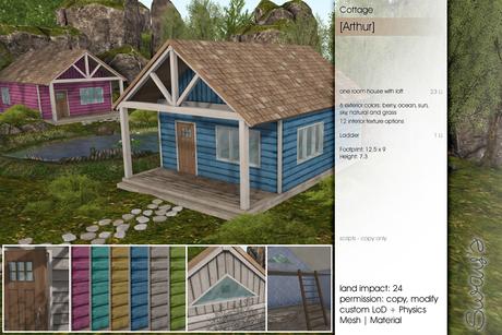 Sway's [Arthur] Cottage