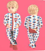Lexxie Totsipop Infant Pajamas Sailor
