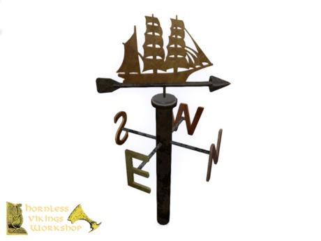 [HVW] Wind vane (ship shape)