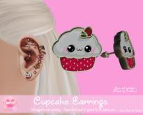 Cake Inc.: Cupcake Earrings