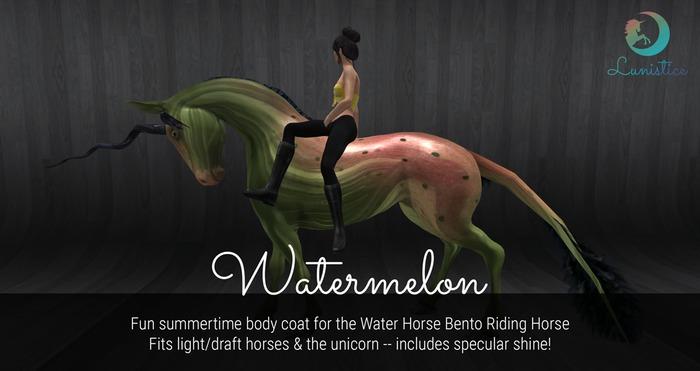 Lunistice: Watermelon - Water Horse Body Coat
