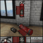 [Kres] Emergency Stash - Red and Rusty