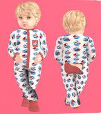 Lexxie Totsipop Baby Pajamas Sailor