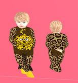 Lexxie TOTSiPOP Onsie Leopard BABY