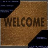 GT Welcome Mat